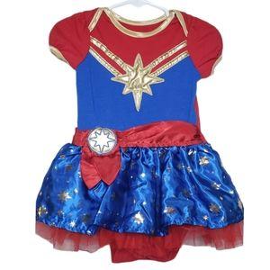 Marvel Captain Marvel costume size 12 mont…